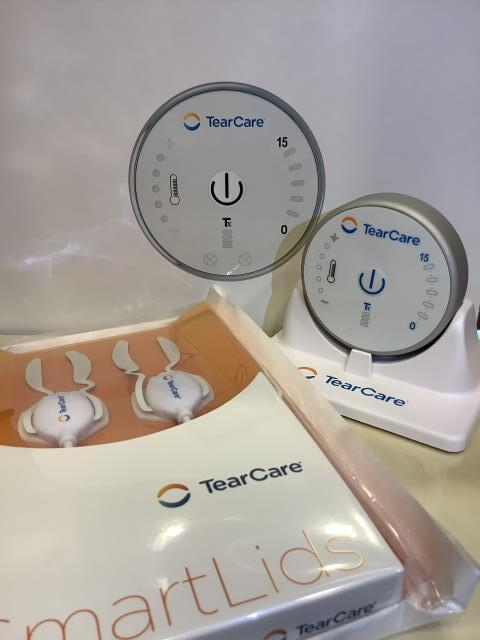 Chino Hills, CA - Treated a patient's dry eyes with TearCare.