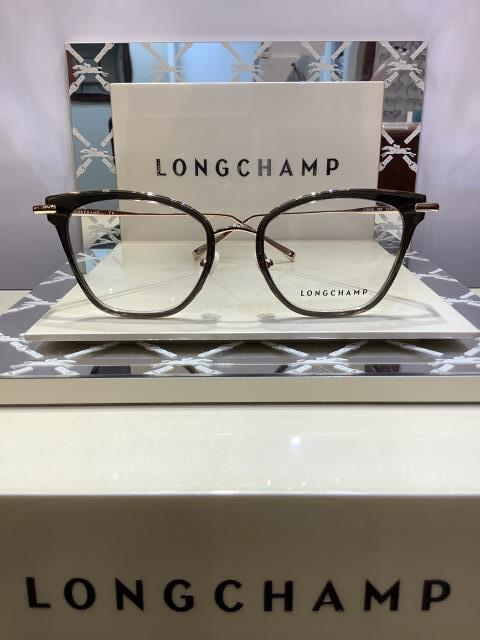 Menifee, CA - Just helped a patient find this stylish and versatile Longchamp frame! It was perfect for her face shape and she saved more with her VSP vision insurance.