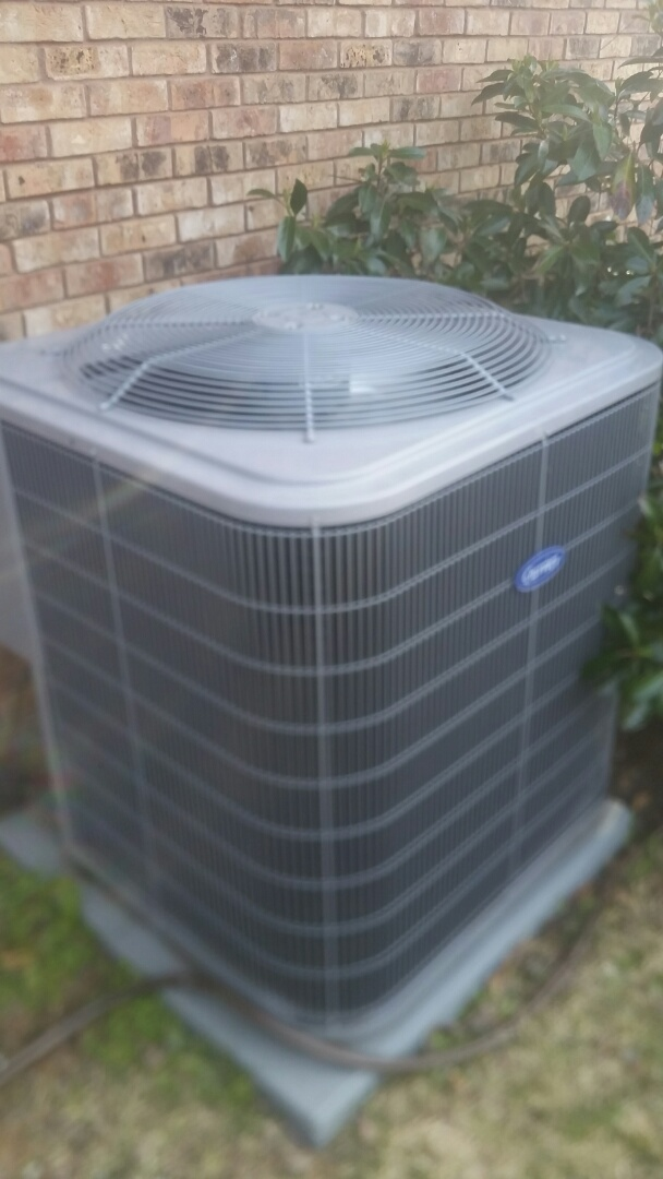 Colleyville, TX - Replaced condenser coil at a home in Colleyville.
