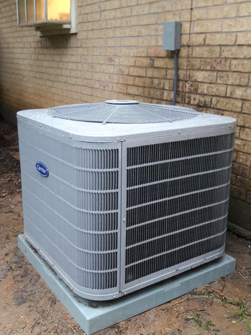 Benbrook, TX - installed a 3 ton carrier heat pump system for a family in Fort Worth.