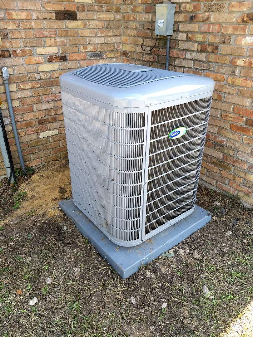 Burleson, TX - Replacing 5 ton evaporator coil and relocating condenser for homeowner in burleson