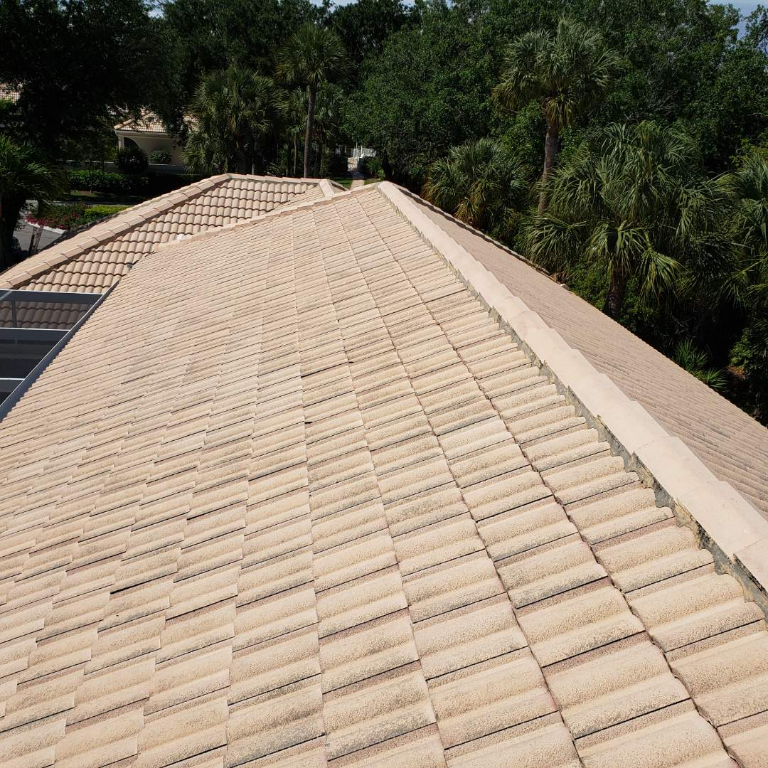 Bonita Springs, FL - Another insurance referral from our friends at East and Greenwell to give an estimate for replacement in Bonita Bay. Tiles were lifted throughout from Hurricane Irma and the insurance company has already approved replacement.