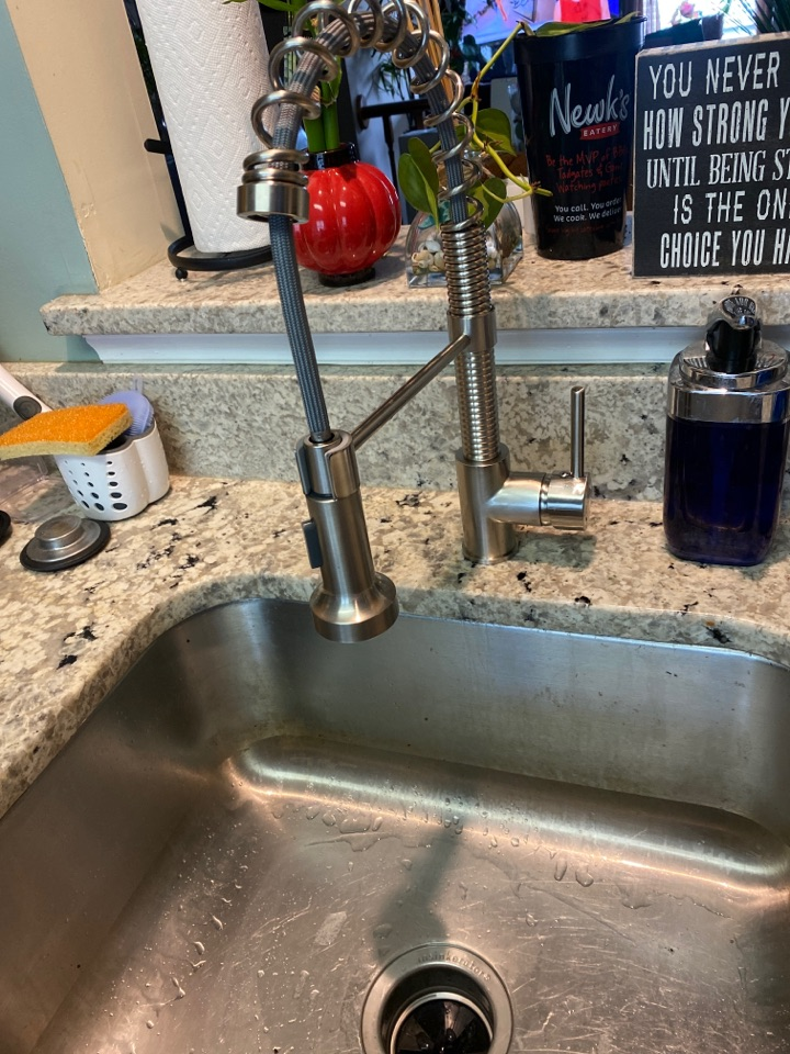 Crofton, MD - Installed new faucet and garbage disposal