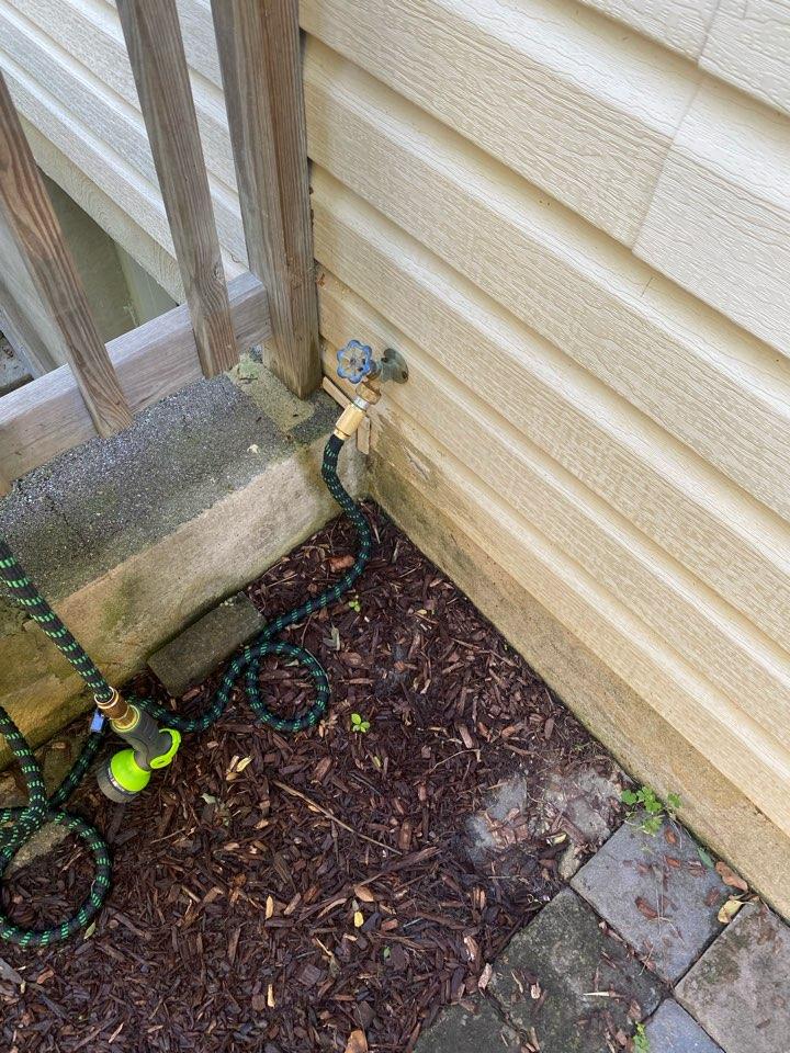 Annapolis, MD - Fixed leaking hosebib