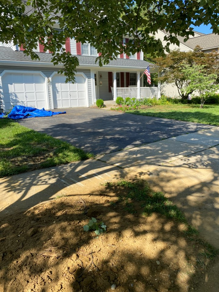 Crofton, MD - Trenchless water line replacement.