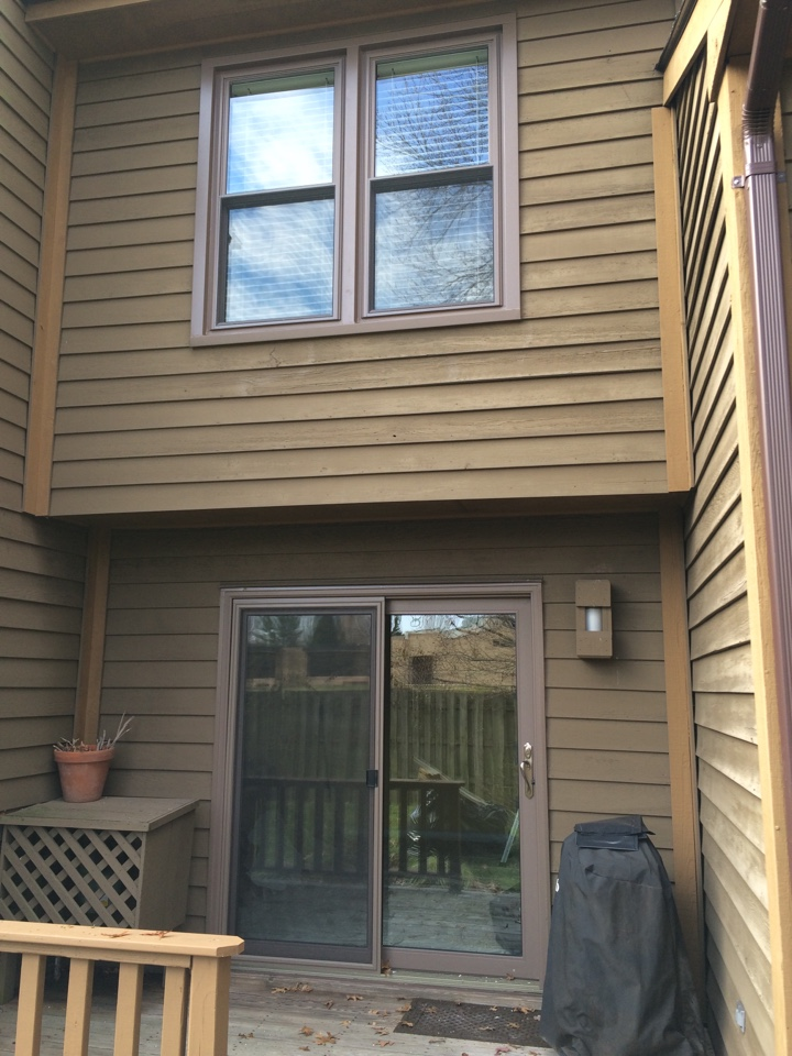 Edison, NJ - Another Sunrise Vanguard solid vinyl window and sliding glass doors job!