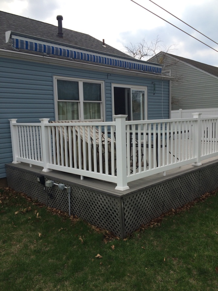 Carteret, NJ - New Eclipse retractable awning by Valiant