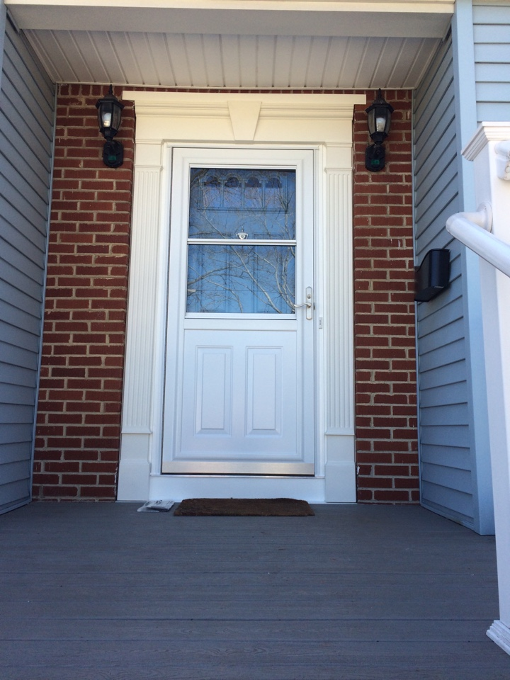 Woodbridge Township, NJ - Drafty door? Valiant completed another Pro Via entry door!
