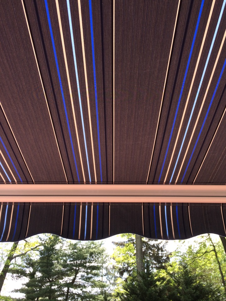 Edison, NJ - Need shade? Eclipse retractable awnings installed by Valiant Home Remodelers provides excellent shade!