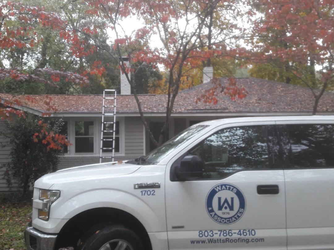 Columbia, SC - Roof leak inspection.