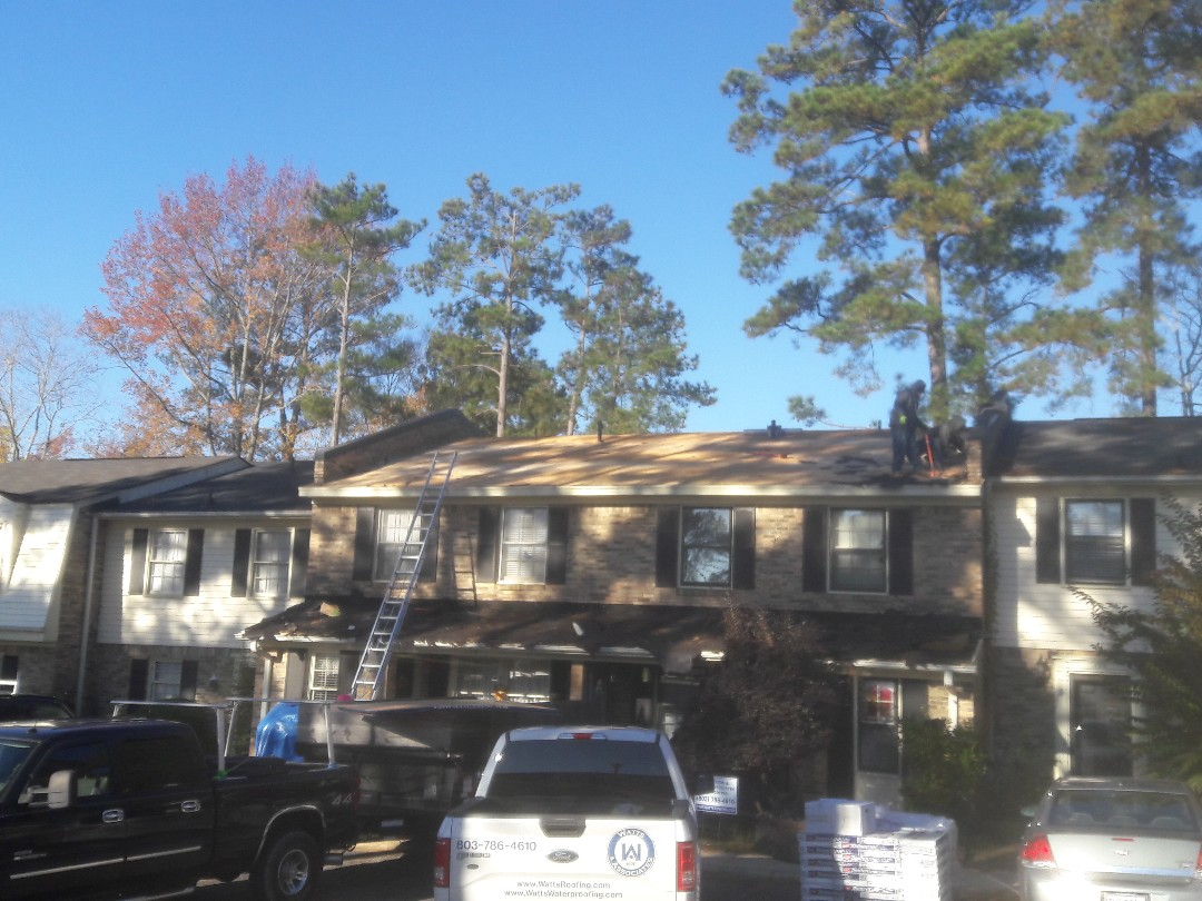 Columbia, SC - Re roofing an apartment complex in Columbia SC