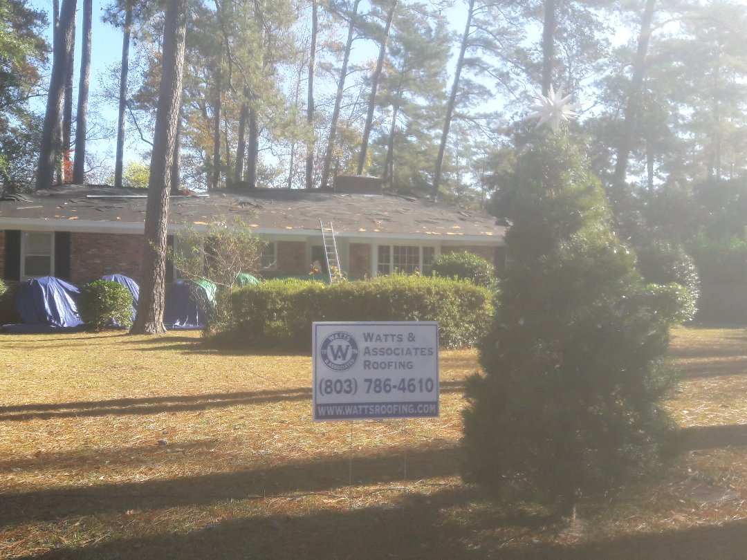 Columbia, SC - Merry Christmas from Watts Roofing. Installing A new Christmas roof in Columbia SC