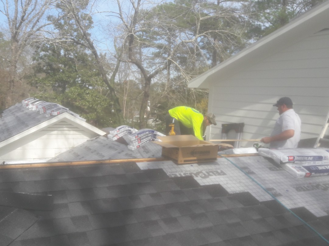 Columbia, SC - Installing A new roof. Columbia SC.