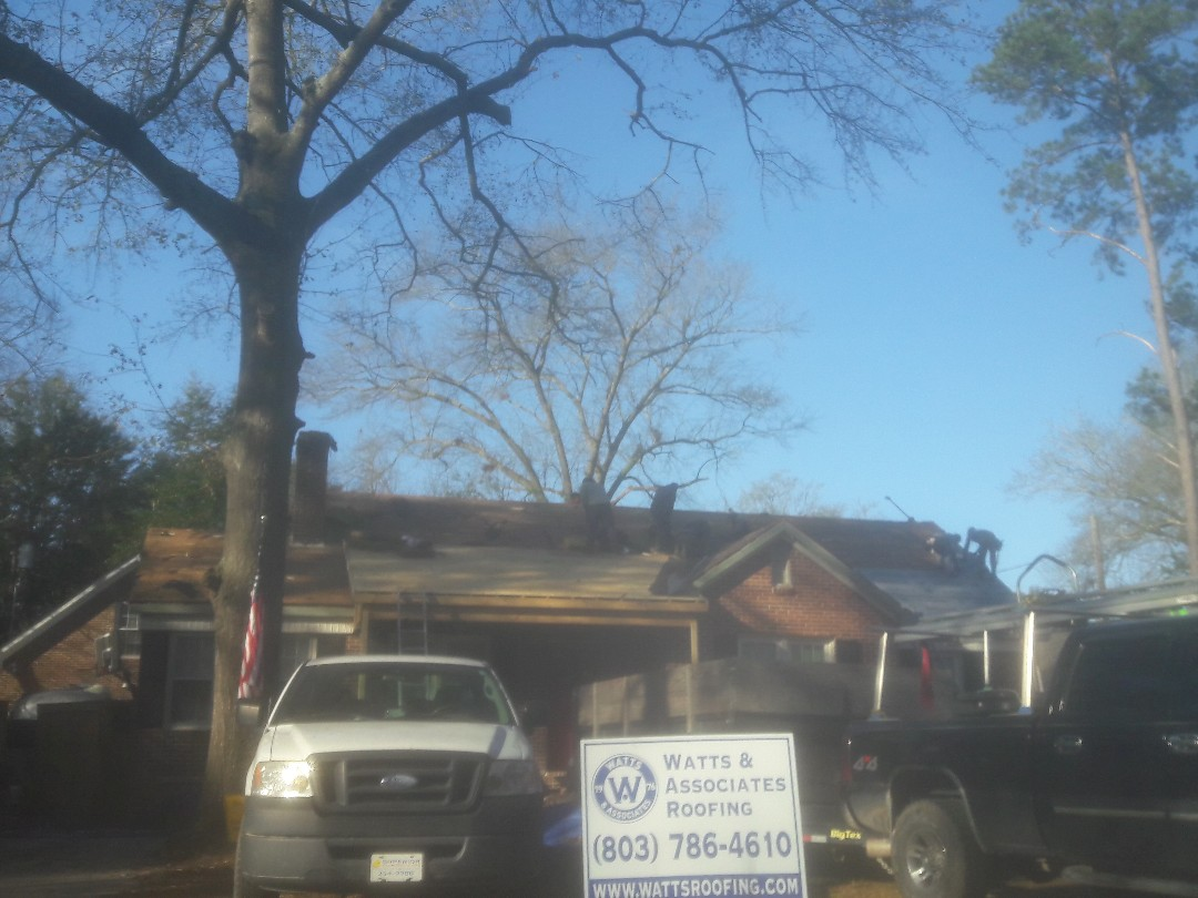 Columbia, SC - Installing A new roof Columbia SC