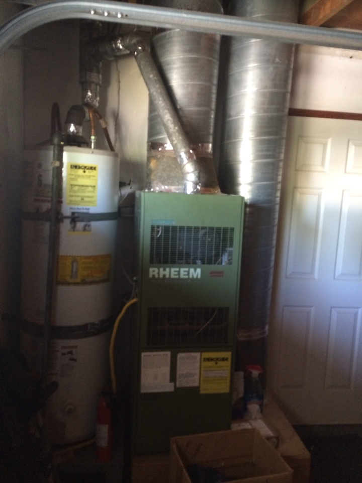 Huntington Beach, CA - Quote on replacing Rheem furnace with Lennox furnace and new thermostat
