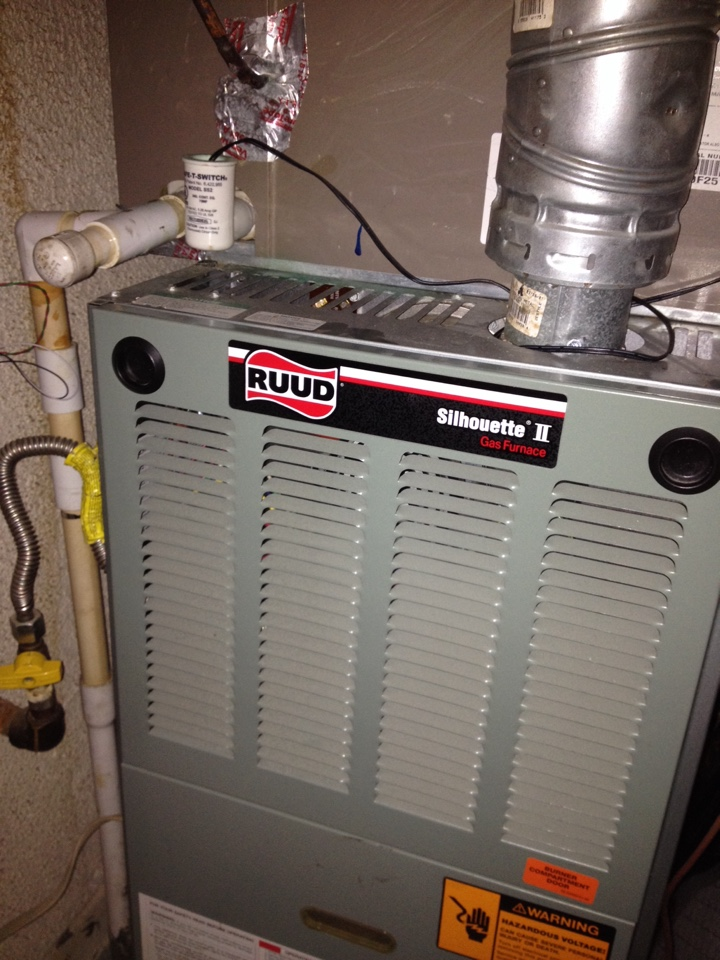 La Verne, CA - Troubleshooting Rudd furnace not heating