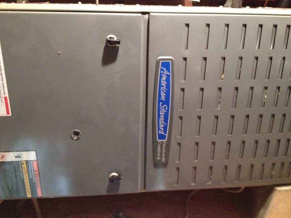 El Monte, CA - Maintenance service of gas furnace and air conditioner American standard