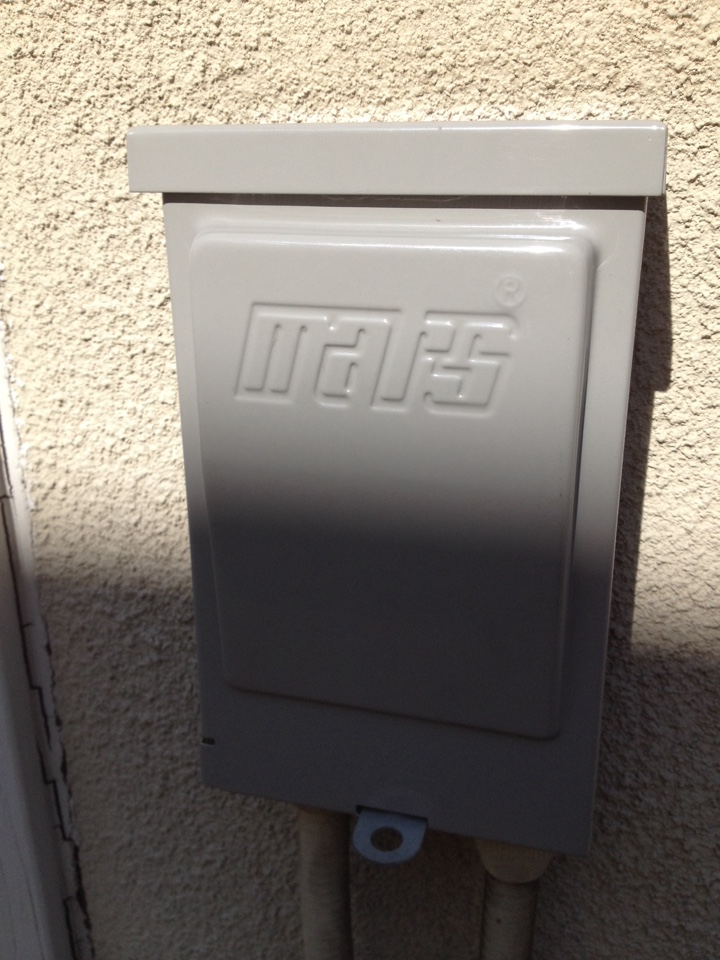 La Verne, CA - Replace electrical disconect box for goodman av unit