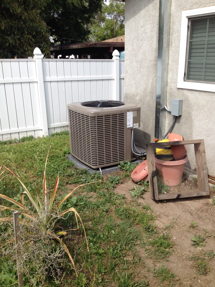 Azusa, CA - Performed maintenance service on York affinity system