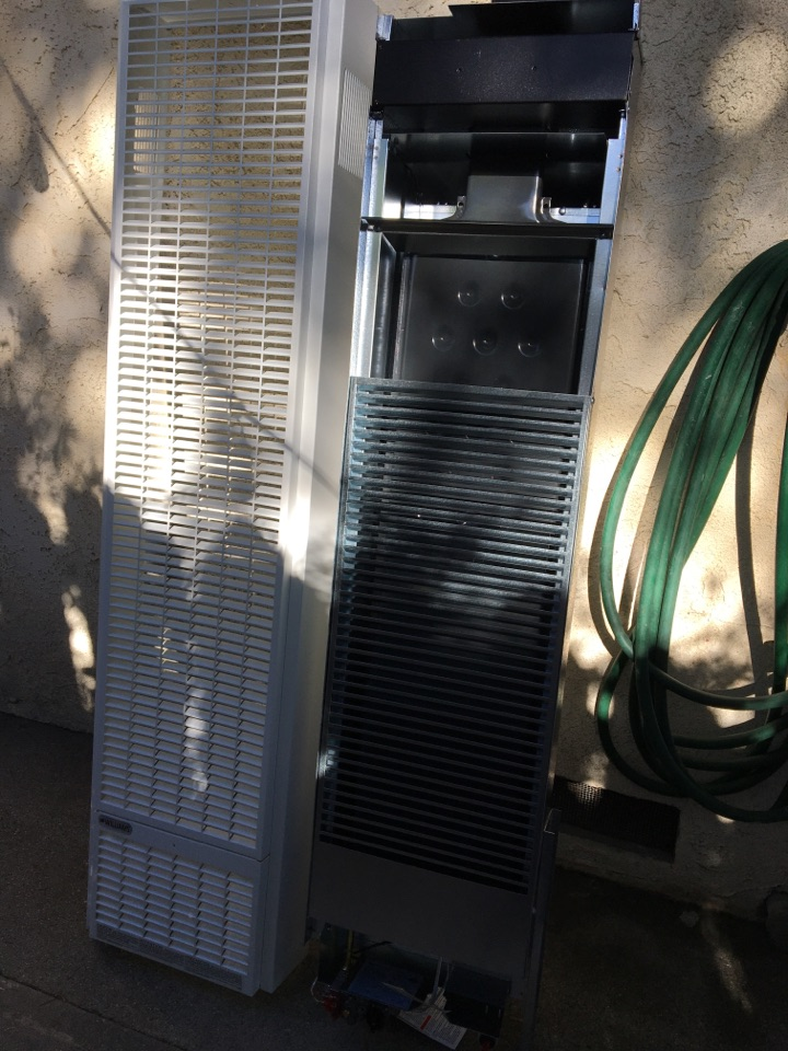 Alhambra, CA - Replace wall furnace