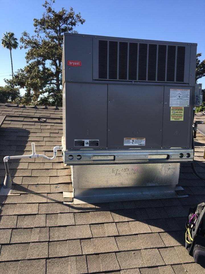 Monrovia, CA - Maintenance package unit & mini split