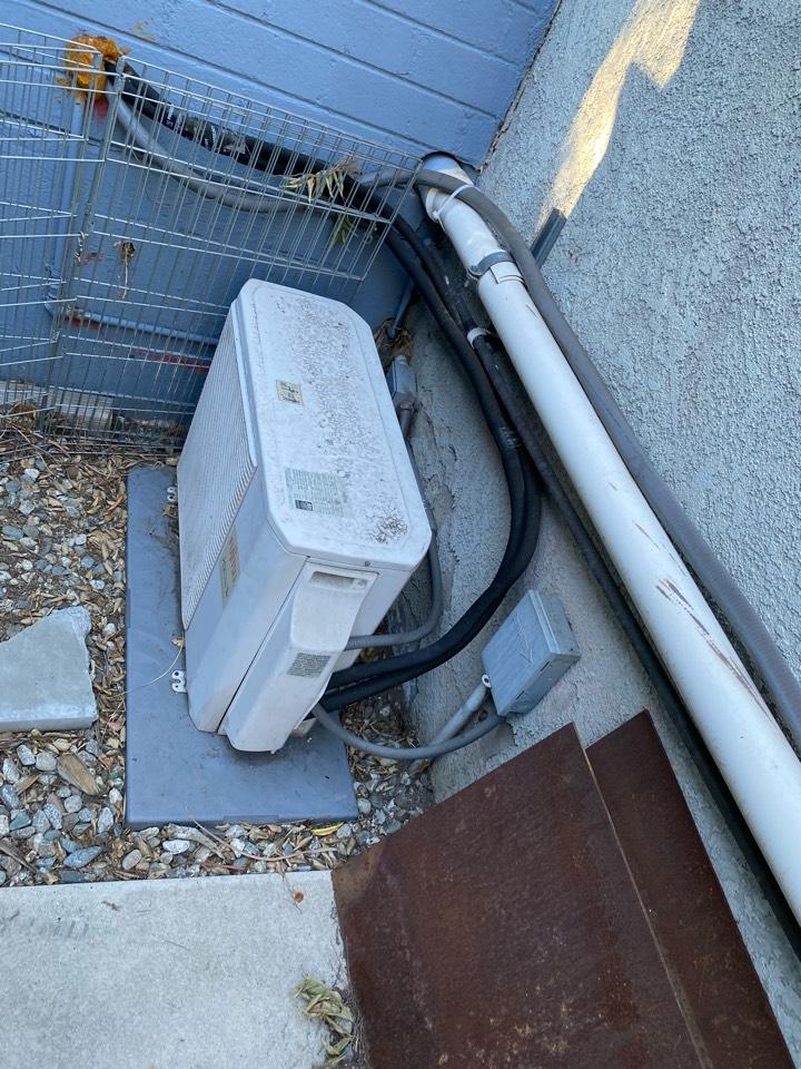 Altadena, CA - Maintenance on Fujitsu heating and air conditioning system