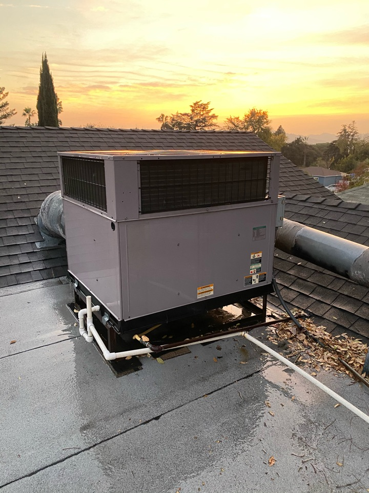 Altadena, CA - Performed preventative maintenance on Bryant heating and air conditioning system
