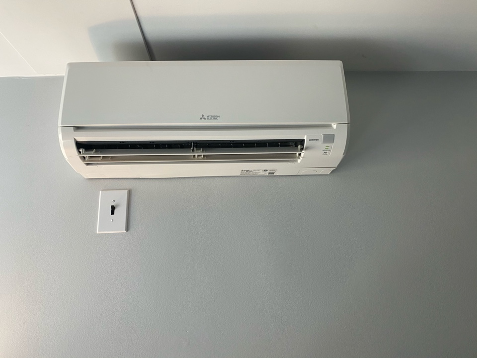 La Puente, CA - Serviced Mitsubishi heating and air conditioning system