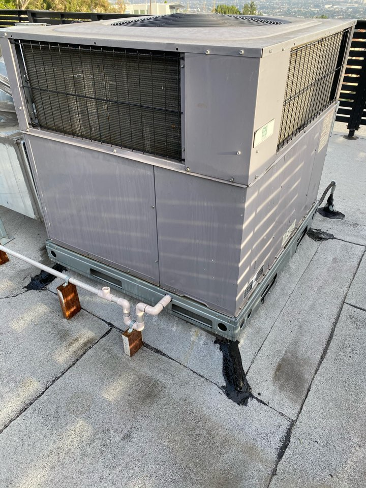 West Hollywood, CA - Serviced carrier heating and air conditioning systems