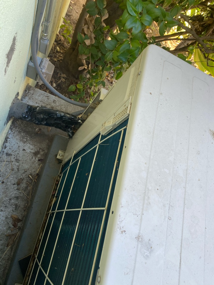 Los Angeles, CA - Perform preventative maintenance on Fujitsu heating and air conditioning system