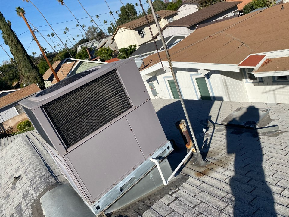 Alhambra, CA - Repaired carrier heating and air conditioning system