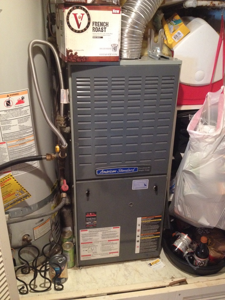 Huntington Beach, CA - Troubleshooting American standard furnace not heating