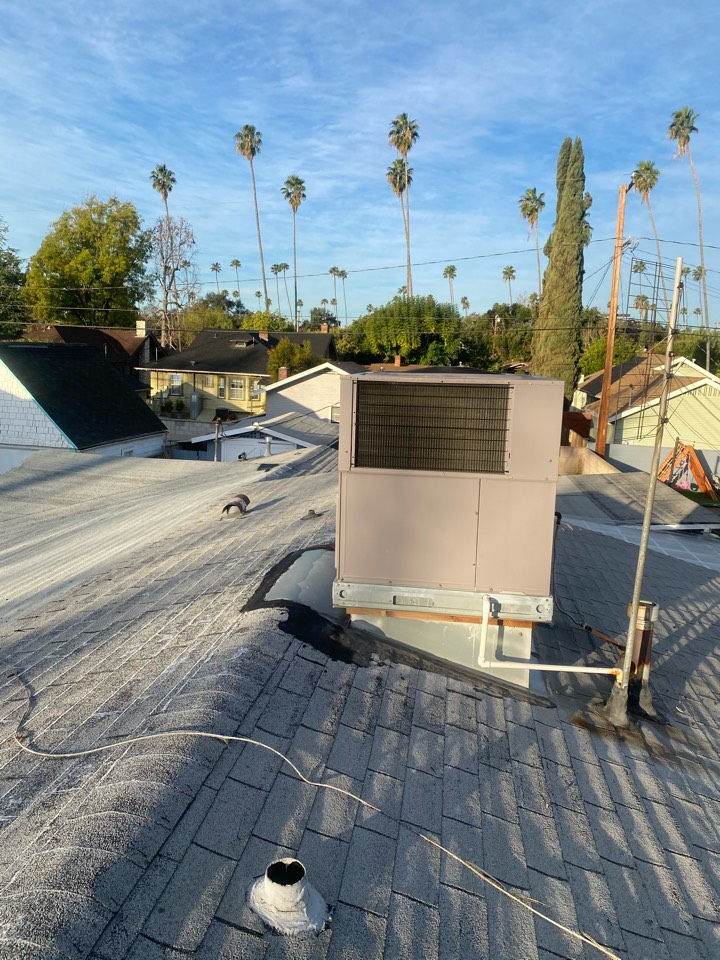 Alhambra, CA - Serviced Bryant heating and air conditioning system