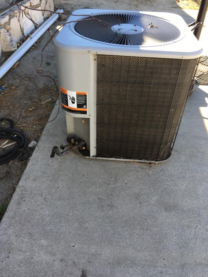 Monrovia, CA - Remove condenser