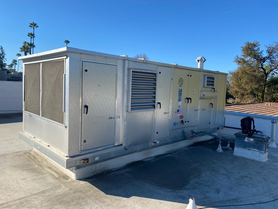 San Marino, CA - Serviced season 4 heating and air conditioning system