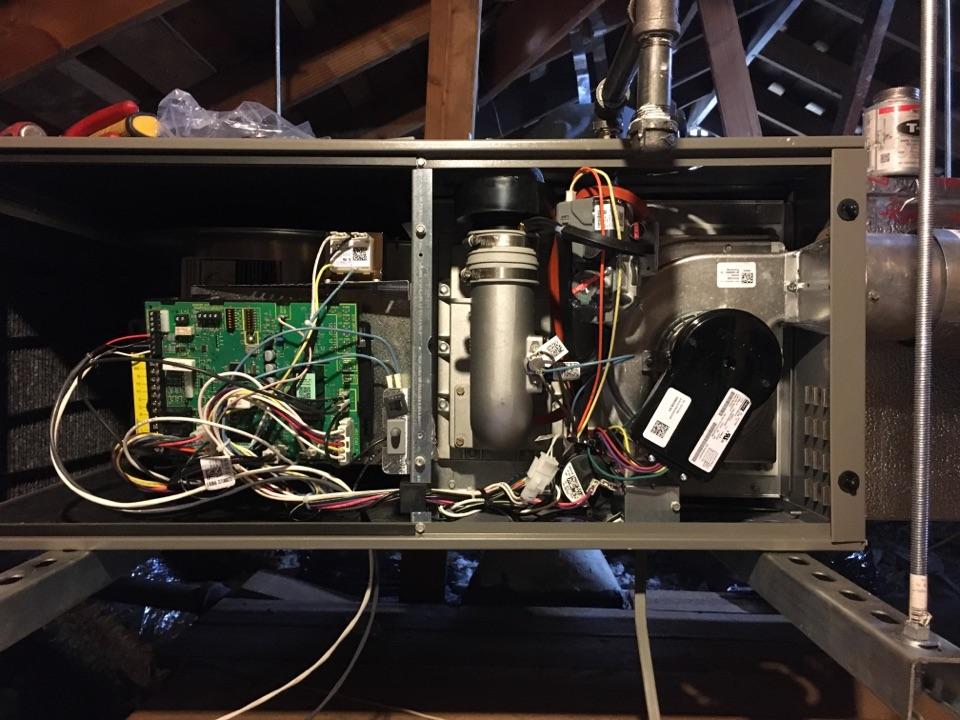 Arcadia, CA - We are installing a 3 ton Lenix system veritable speed