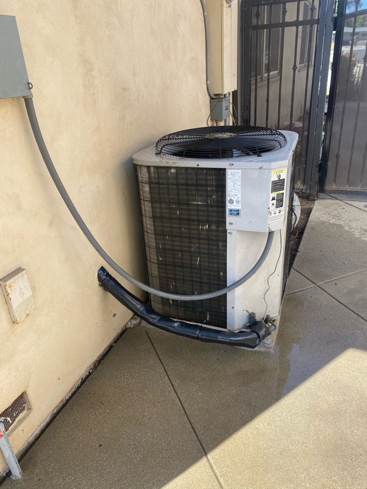 Duarte, CA - Perform preventative maintenance on York heating and air conditioning system