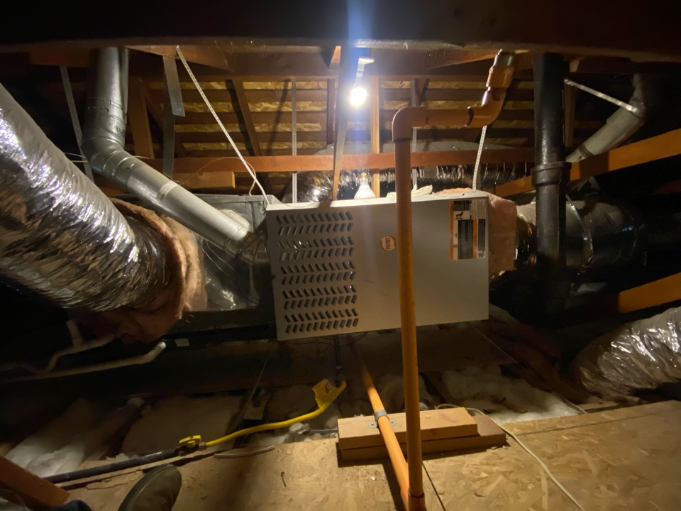 Glendale, CA - Serviced Payne heating and air conditioning system