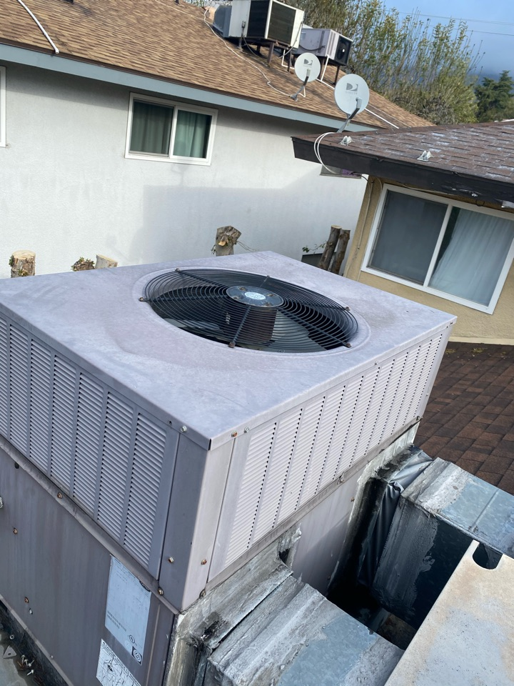 Pasadena, CA - Perform preventative maintenance on carrier heating and air conditioning system