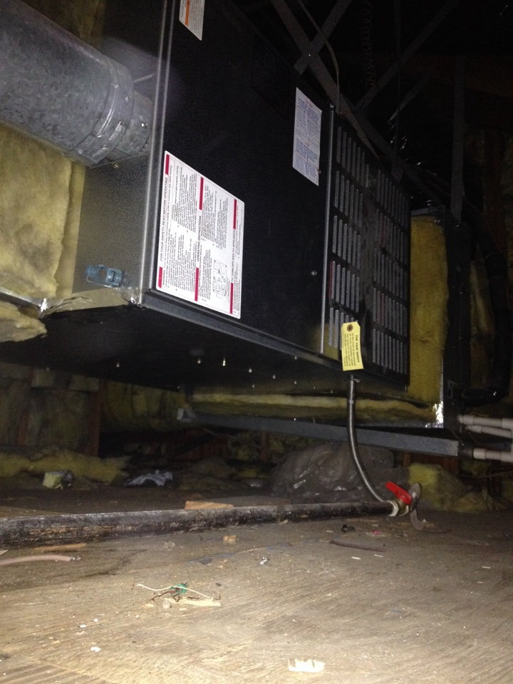 Rosemead, CA - Replace safety switch for vent gaurd draft safety