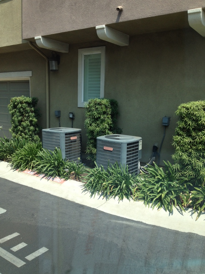 Covina, CA - Troubleshooting Goodman heating and air-conditioning unit