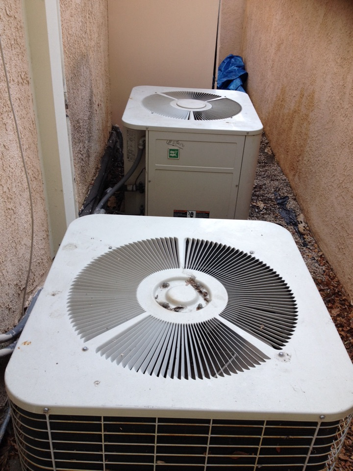 Los Alamitos, CA - Troubleshoot system not cooling very well leak in red system