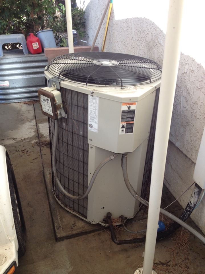 Diamond Bar, CA - Replaced come passenger on Bryant heating and air conditioning system