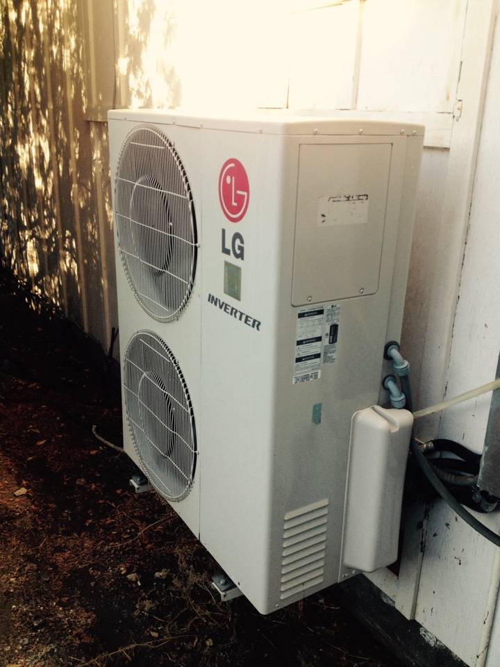Santa Clarita, CA - Perform maintenance service on for LG ductless split systems