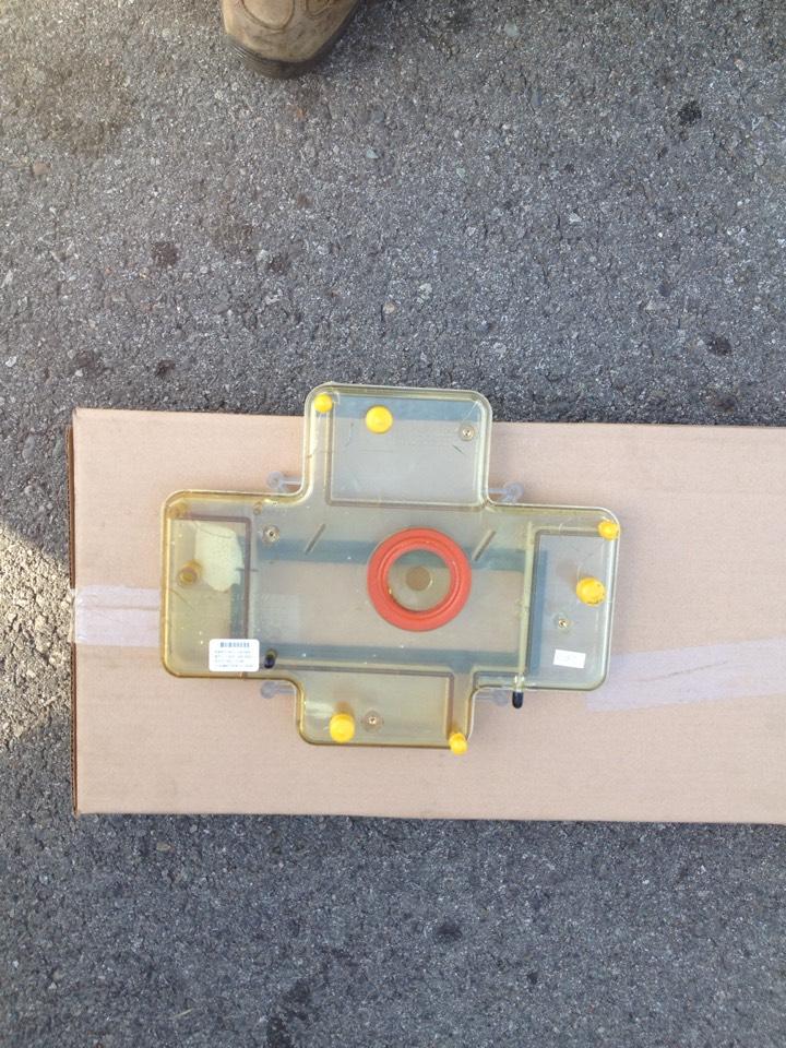 Glendora, CA - Replacing cracked collector box for York 96% condensating furnace