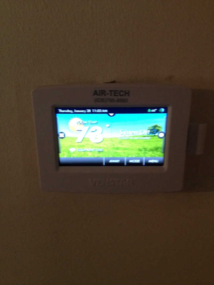 Rosemead, CA - Replacing faulty thermostat not keeping temperature correctly