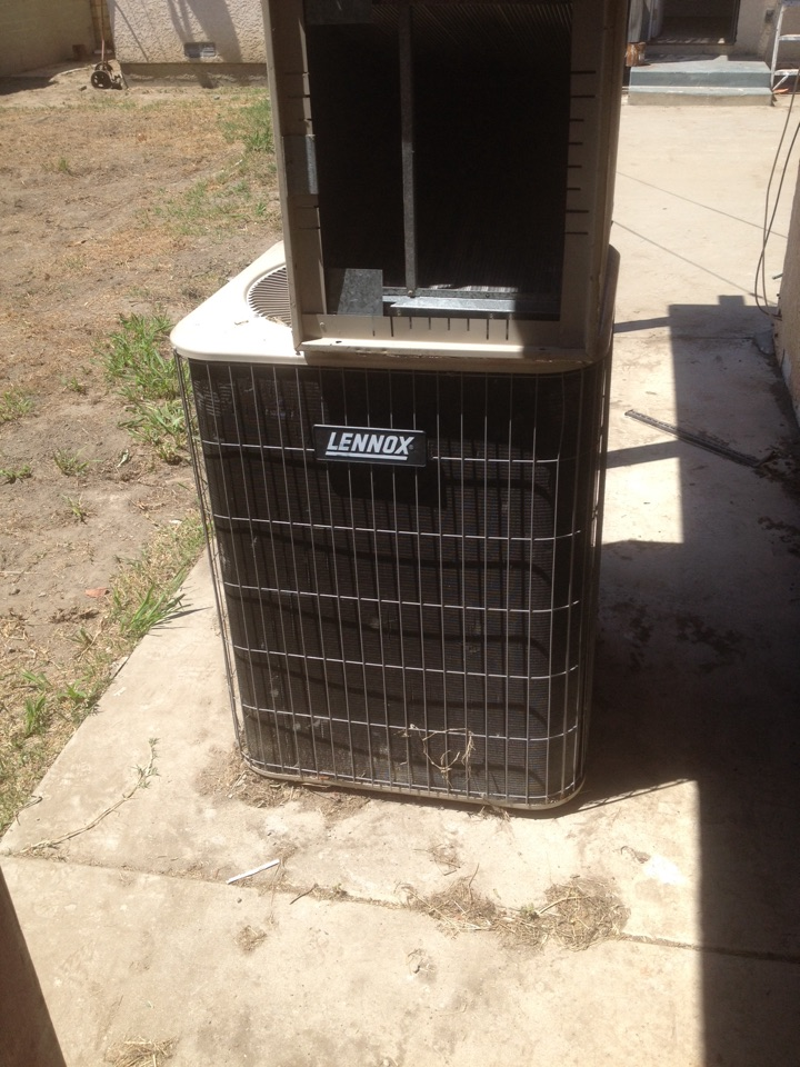 El Monte, CA - Installing used LENNOX system