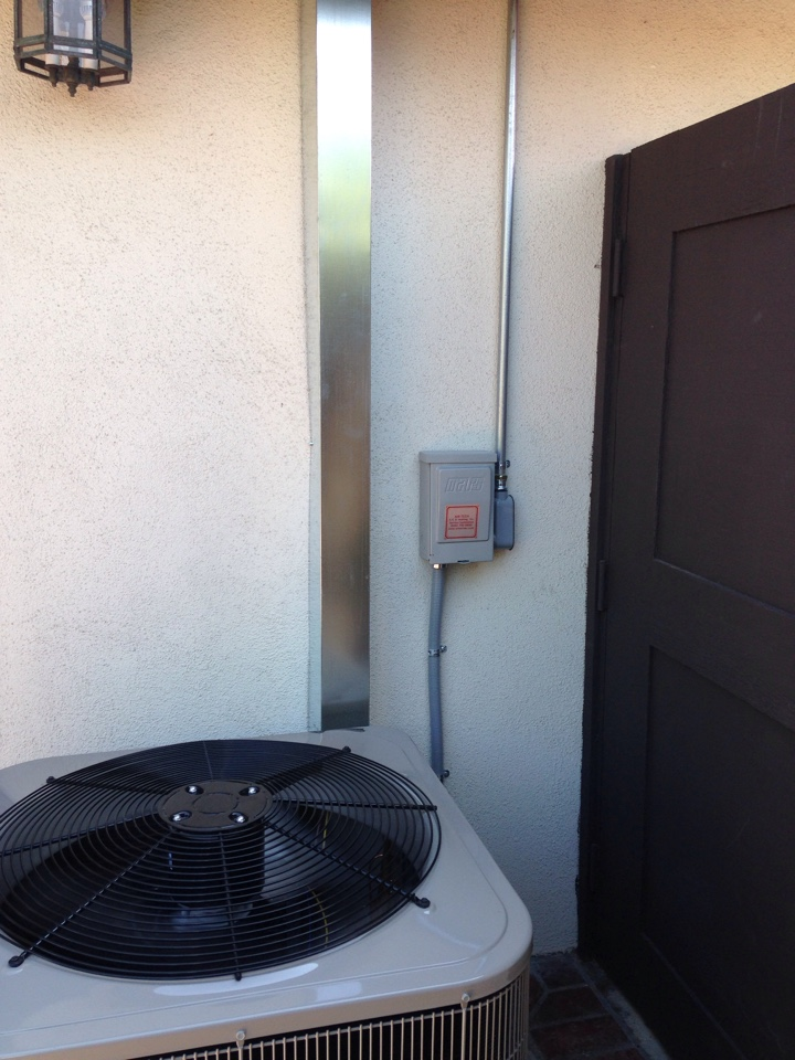 Seal Beach, CA - Installed Bryant a/c System