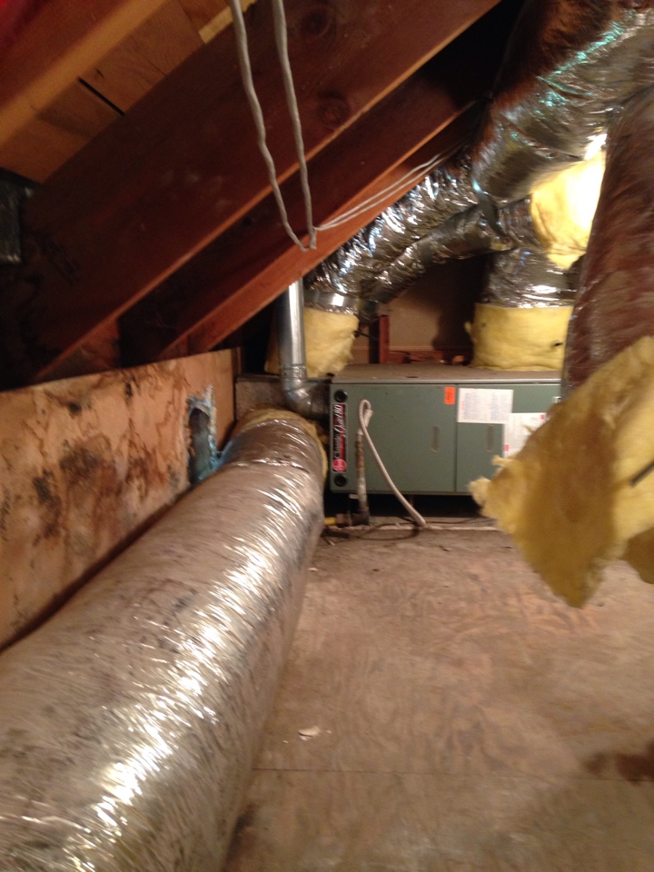 Seal Beach, CA - Installing new air-conditioning units to previous furnace and relocating furnaces