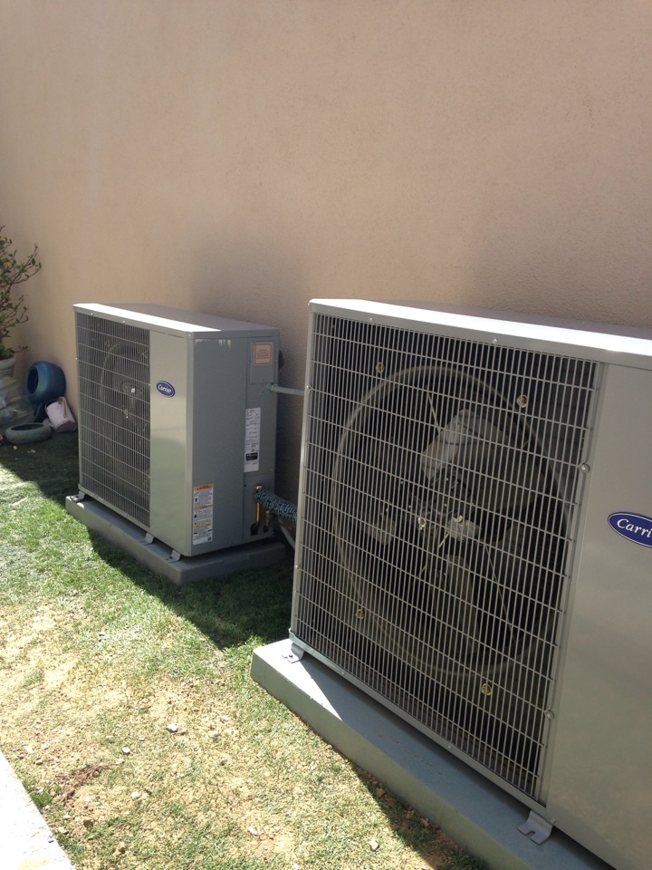 Seal Beach, CA - Installed new carrier air-conditioning units